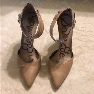 Steve Madden Claire Pumps Nude / Silver